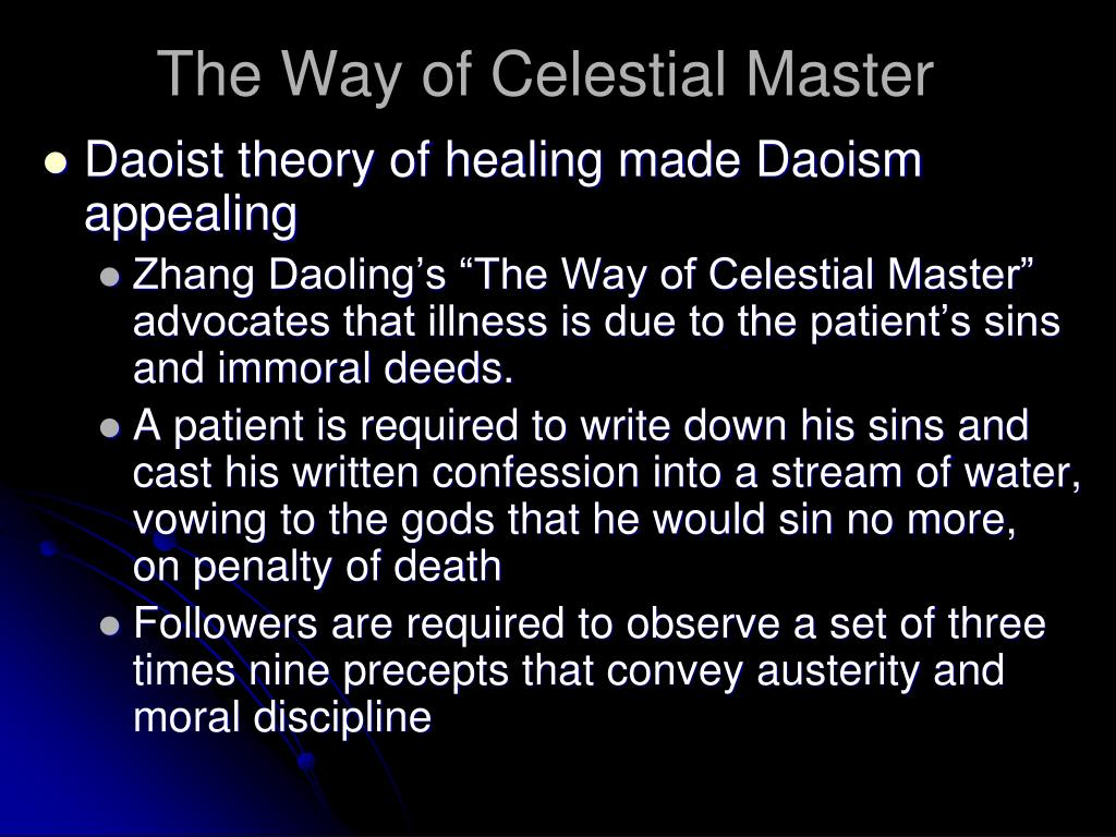 The Way of Celestial Master