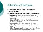 definition of collateral