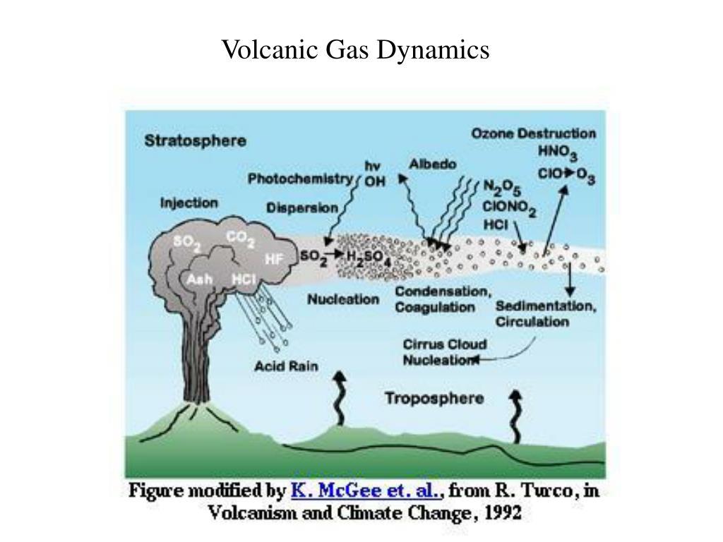 Volcanic Gas Dynamics