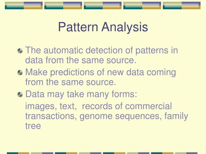 Pattern analysis3