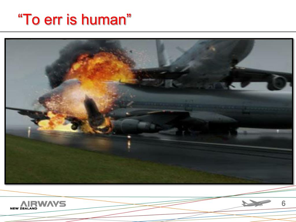 """""""To err is human"""""""