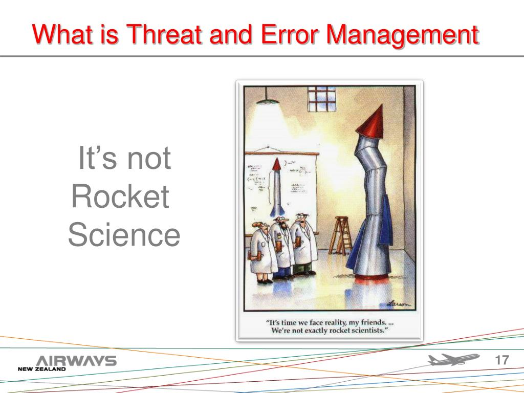 What is Threat and Error Management