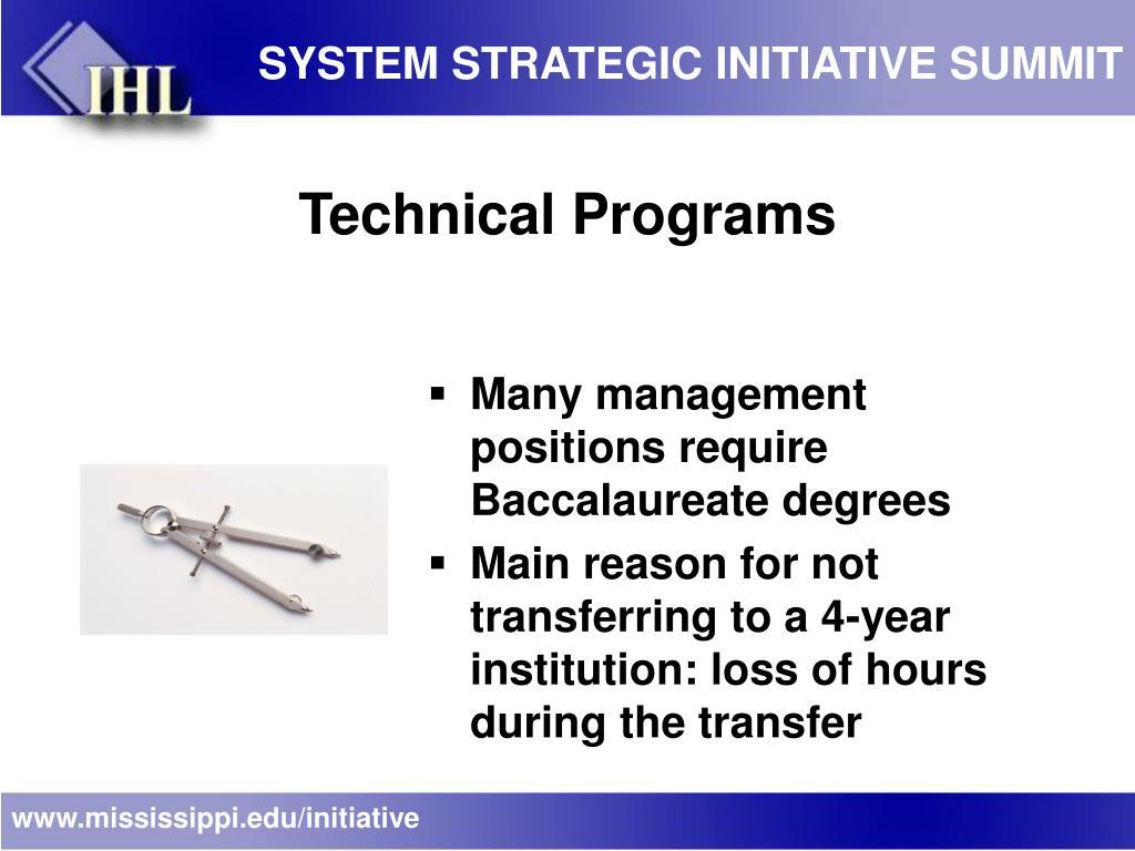 SYSTEM STRATEGIC INITIATIVE SUMMIT