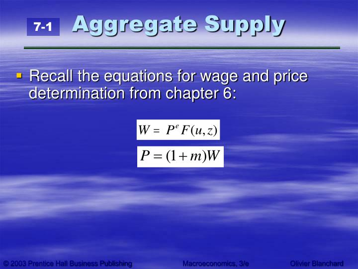 Aggregate supply3