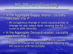 as ad and causality32