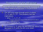 properties of the as curve19
