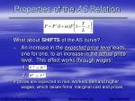 properties of the as relation14