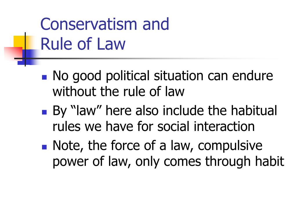 Conservatism and