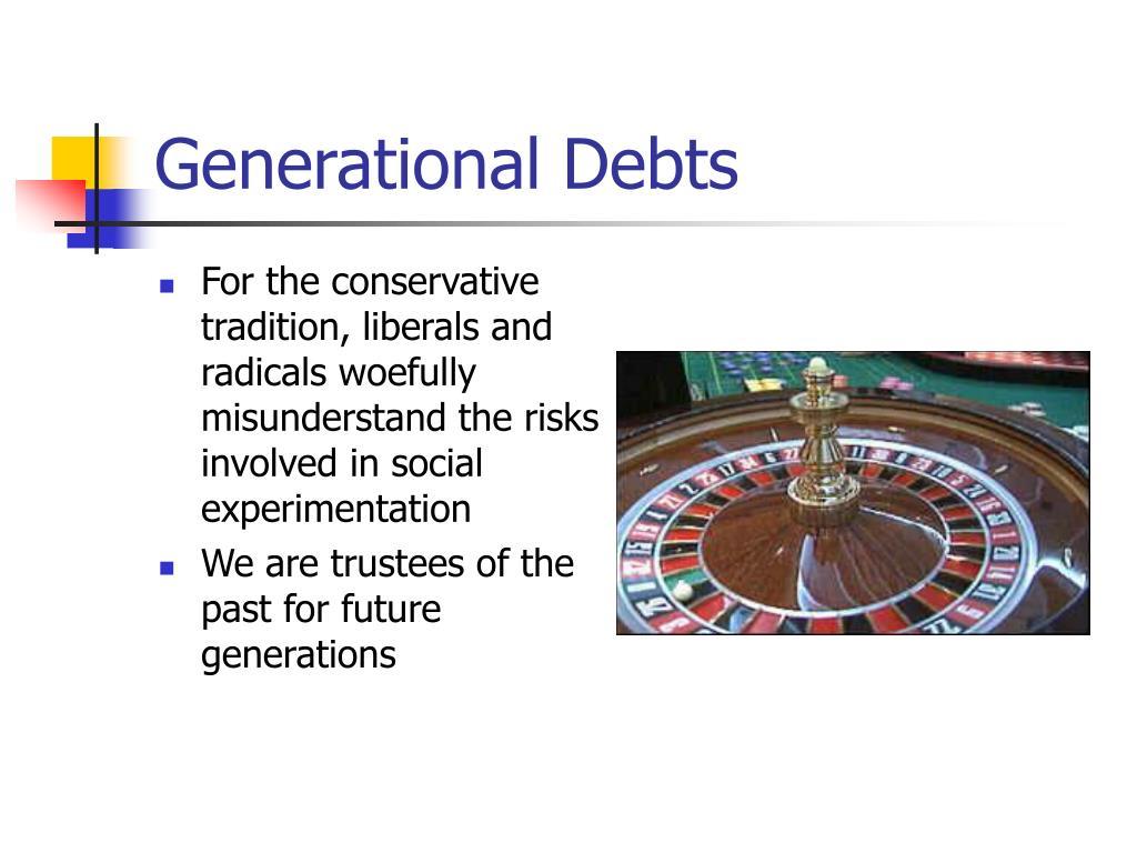 Generational Debts