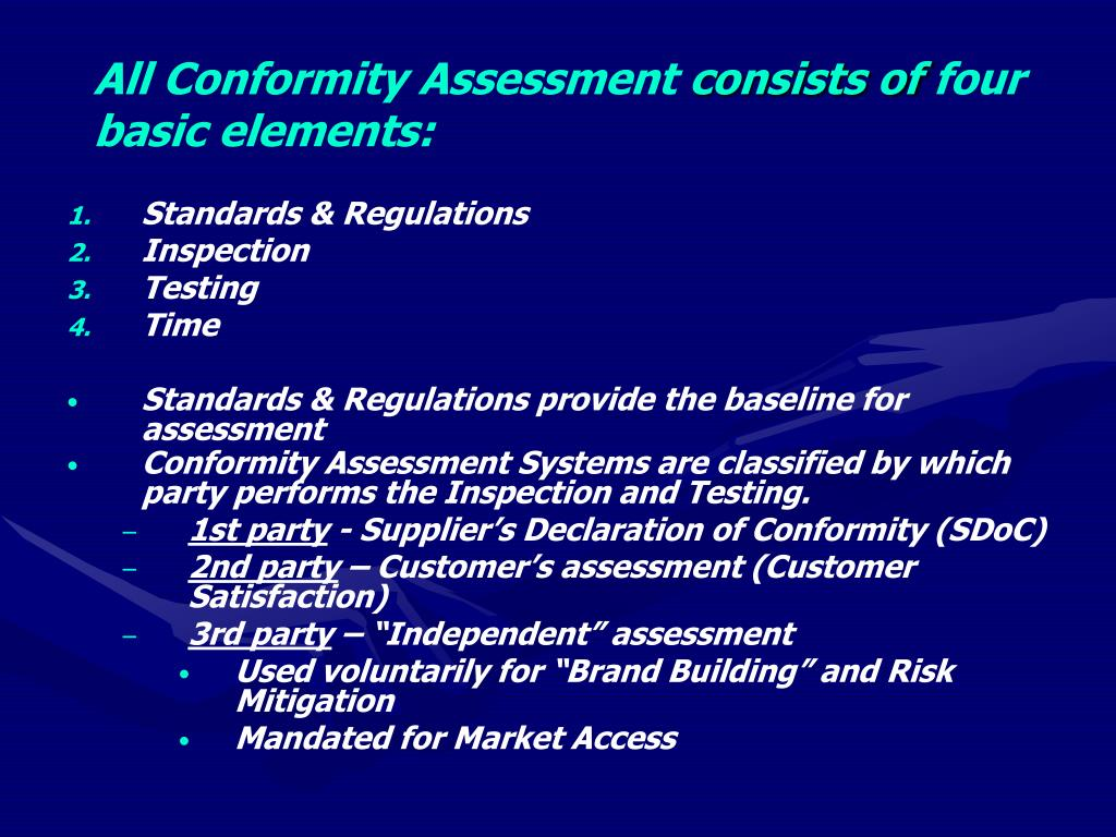 All Conformity Assessment