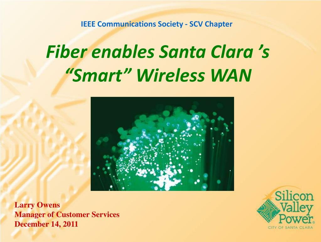 fiber enables santa clara s smart wireless wan