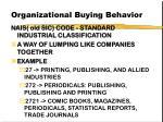 organizational buying behavior56