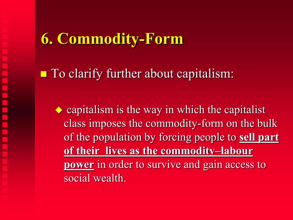 6. Commodity-Form