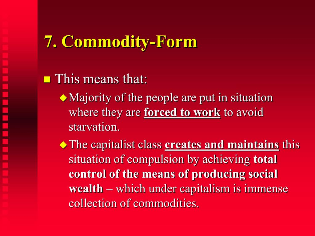 7. Commodity-Form