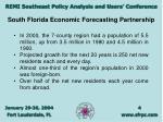 south florida economic forecasting partnership4