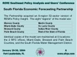 south florida economic forecasting partnership6