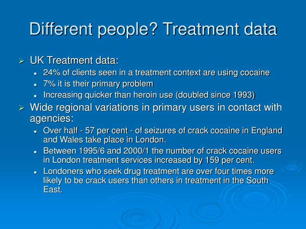 Different people? Treatment data