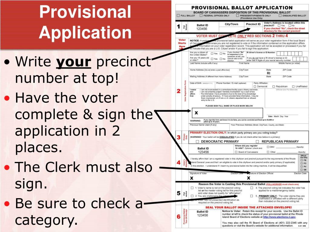 Provisional Application