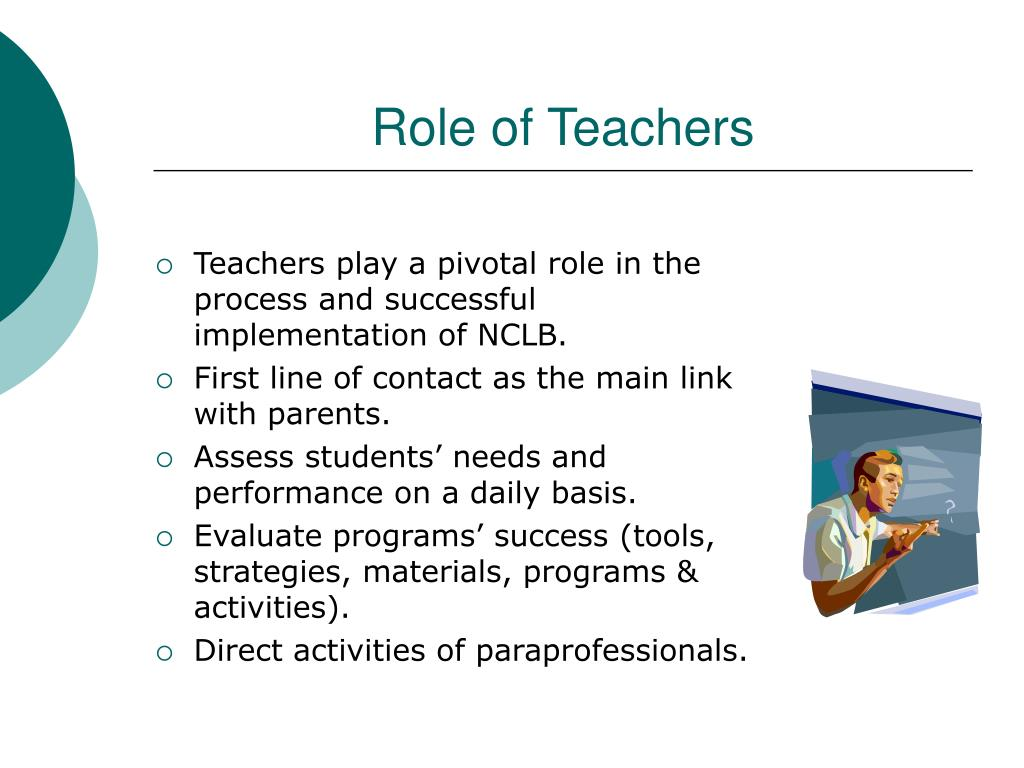 Role of Teachers