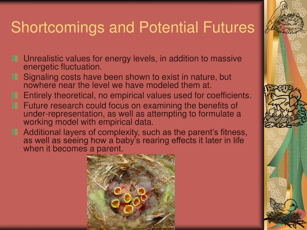 Shortcomings and Potential Futures