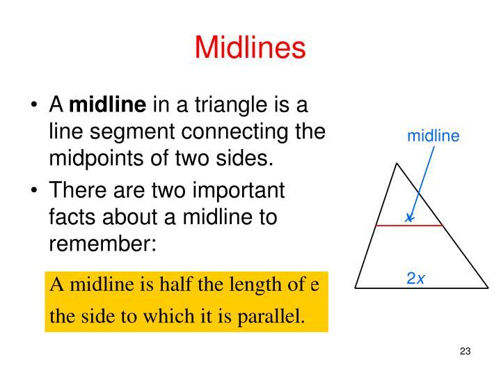 Midlines