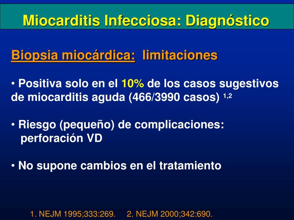 Miocarditis Infecciosa: Diagnóstico