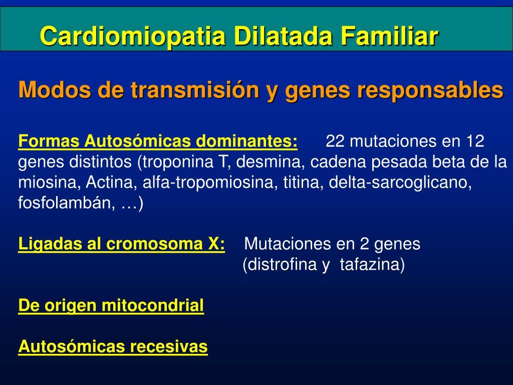 Cardiomiopatia Dilatada Familiar