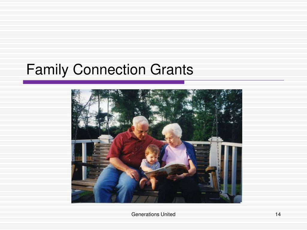 Family Connection Grants