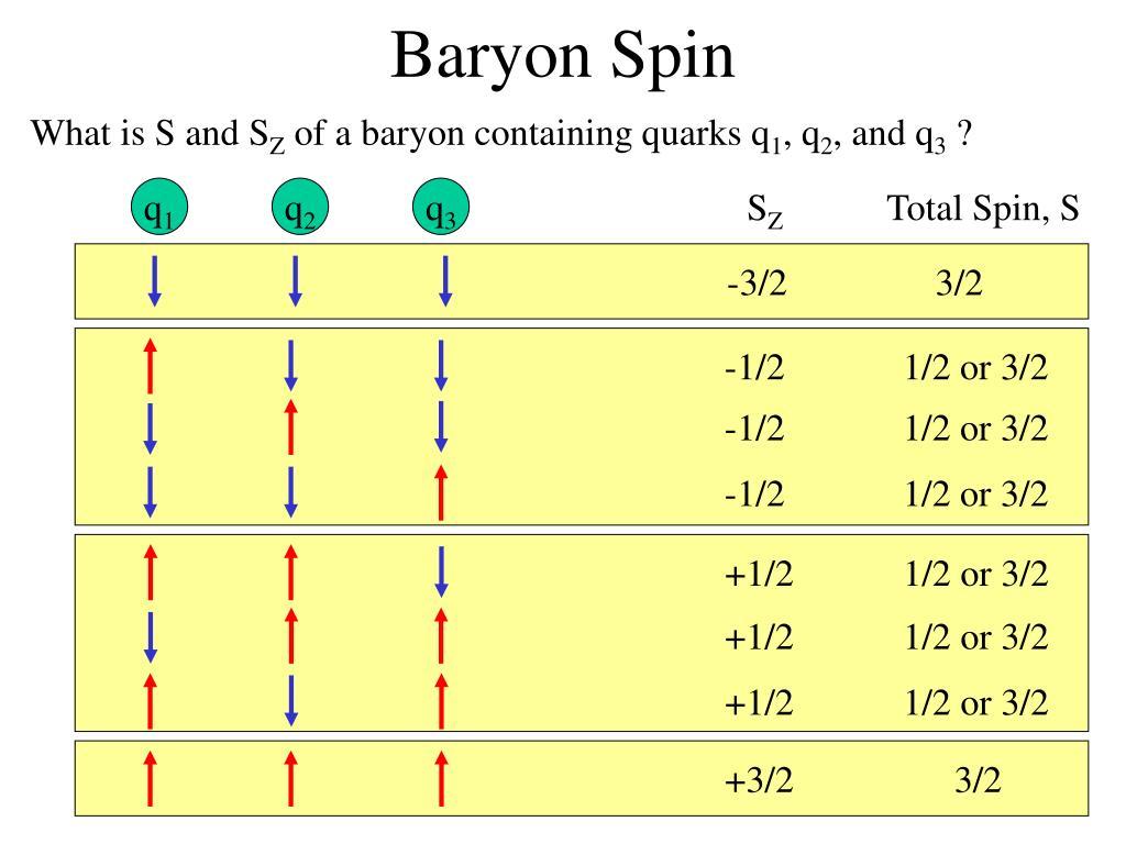 Baryon Spin