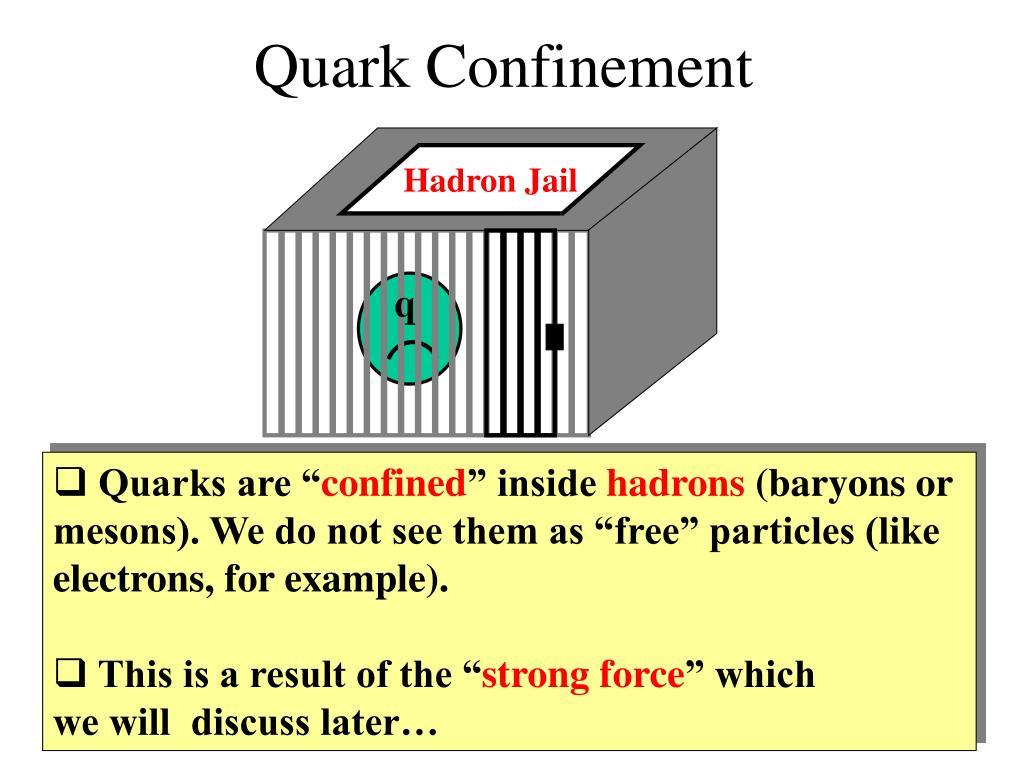 Hadron Jail