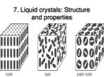 7 liquid crystals structure and properties91