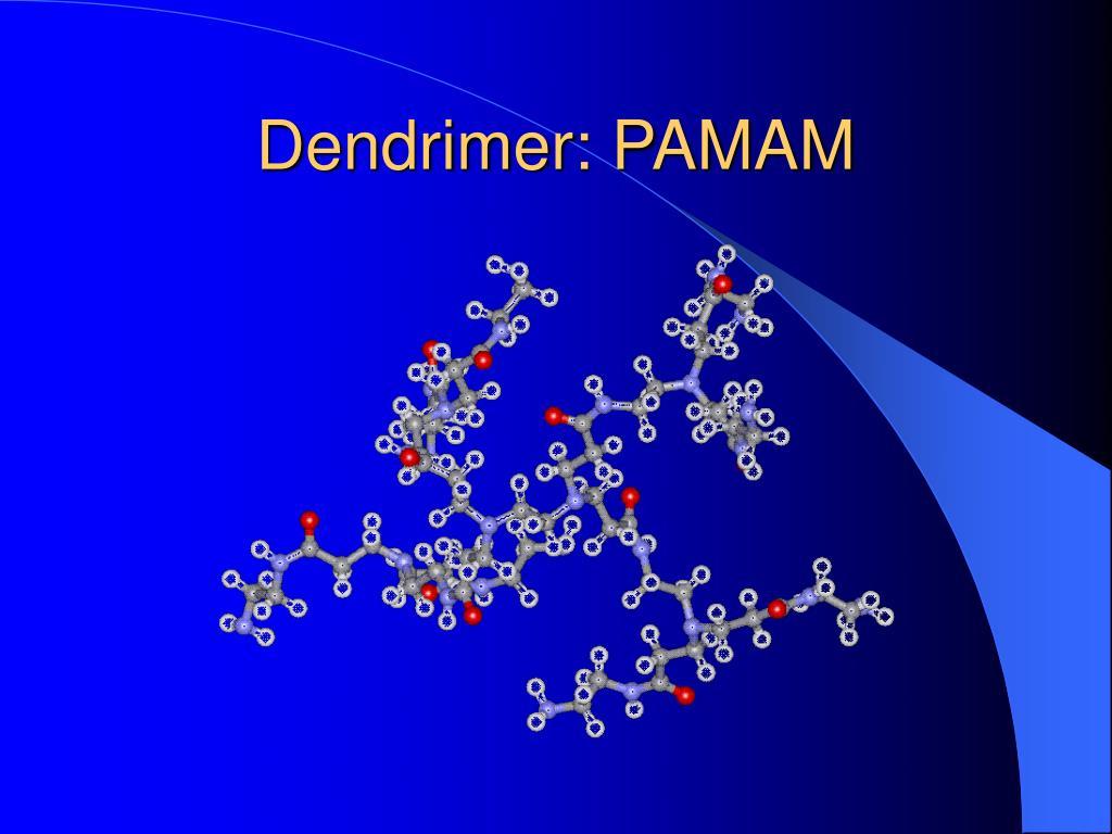 Dendrimer: PAMAM