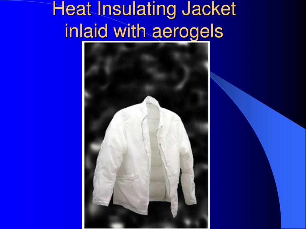 Heat Insulating Jacket inlaid with aerogels