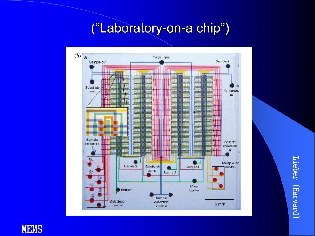 "(""Laboratory-on-a chip"")"