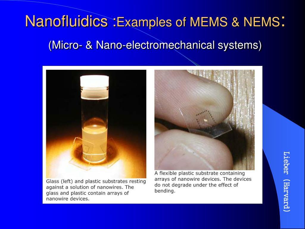 Nanofluidics :