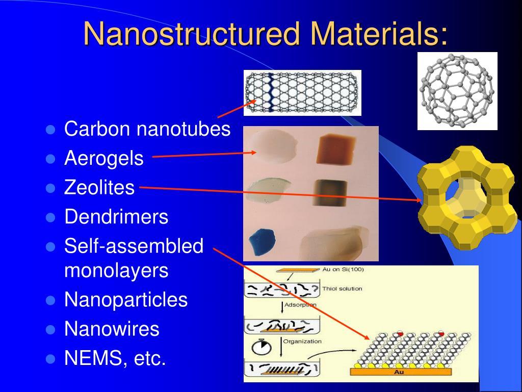 Nanostructured Materials: