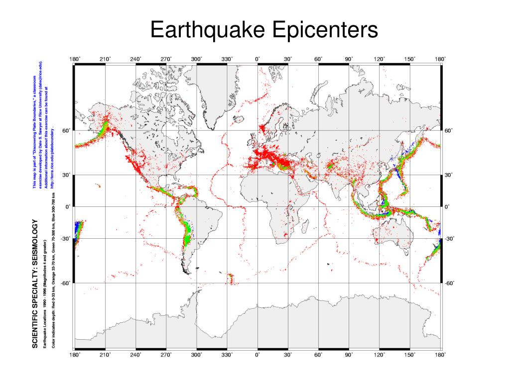 Earthquake Epicenters
