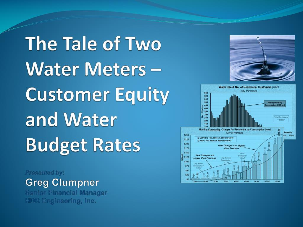 The Tale of Two Water Meters – Customer Equity and Water Budget Rates