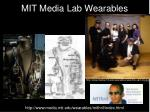 mit media lab wearables