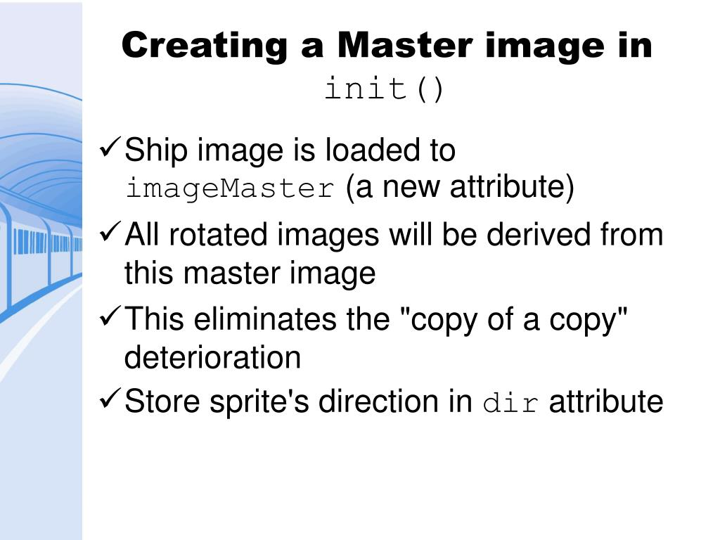 Creating a Master image in