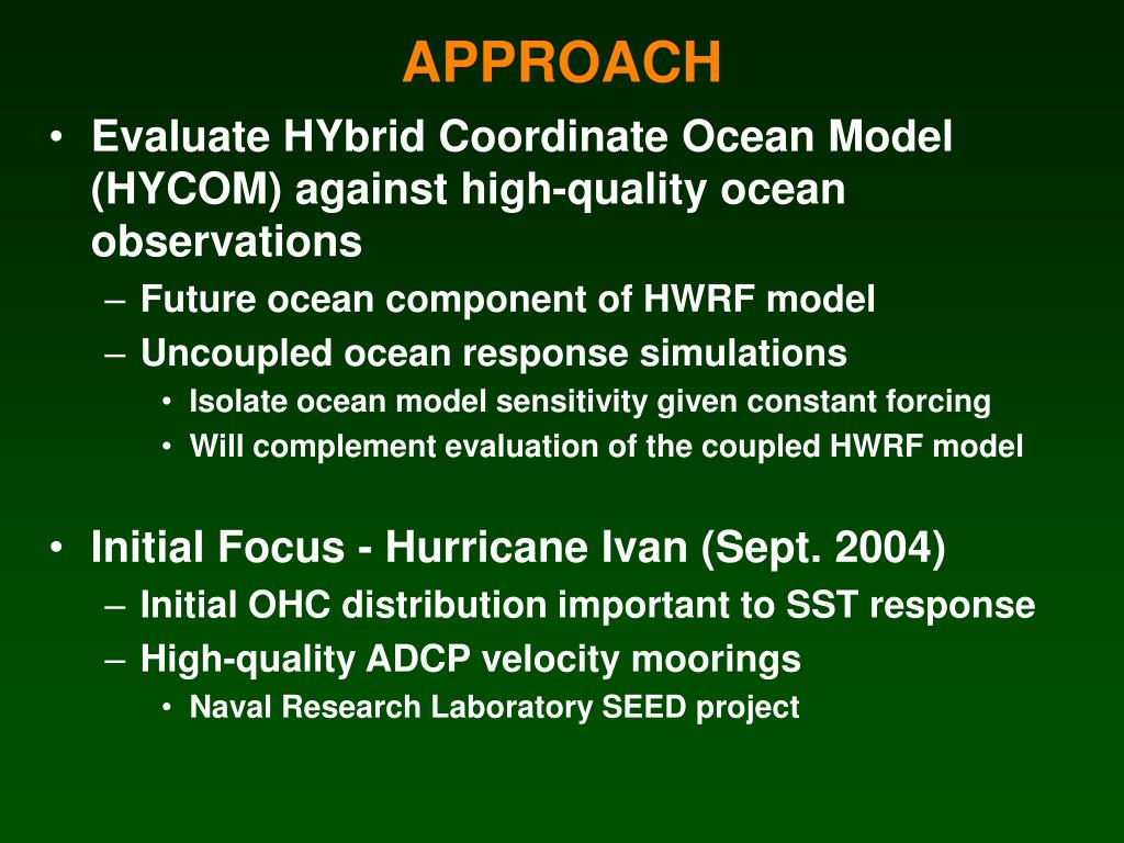 Evaluate HYbrid Coordinate Ocean Model (HYCOM) against high-quality ocean observations