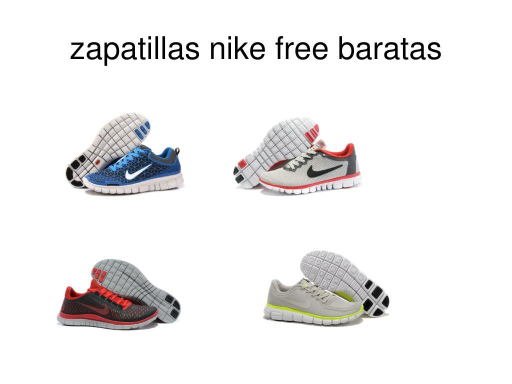 zapatillas nike free baratas