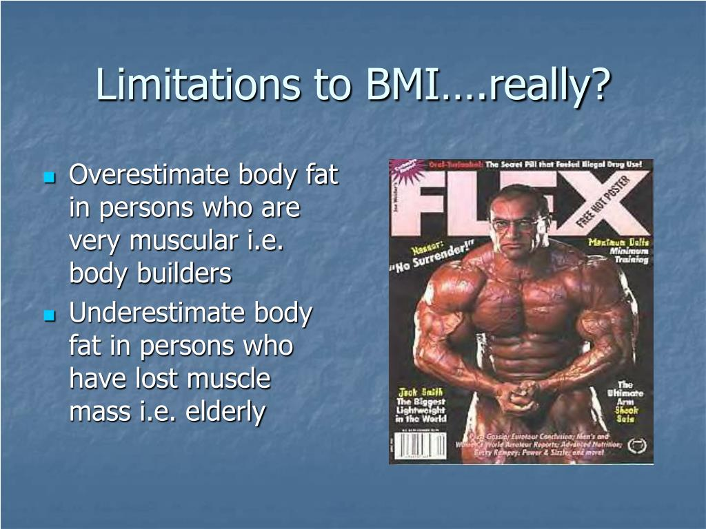Limitations to BMI….really?