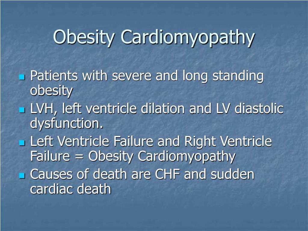 Obesity Cardiomyopathy