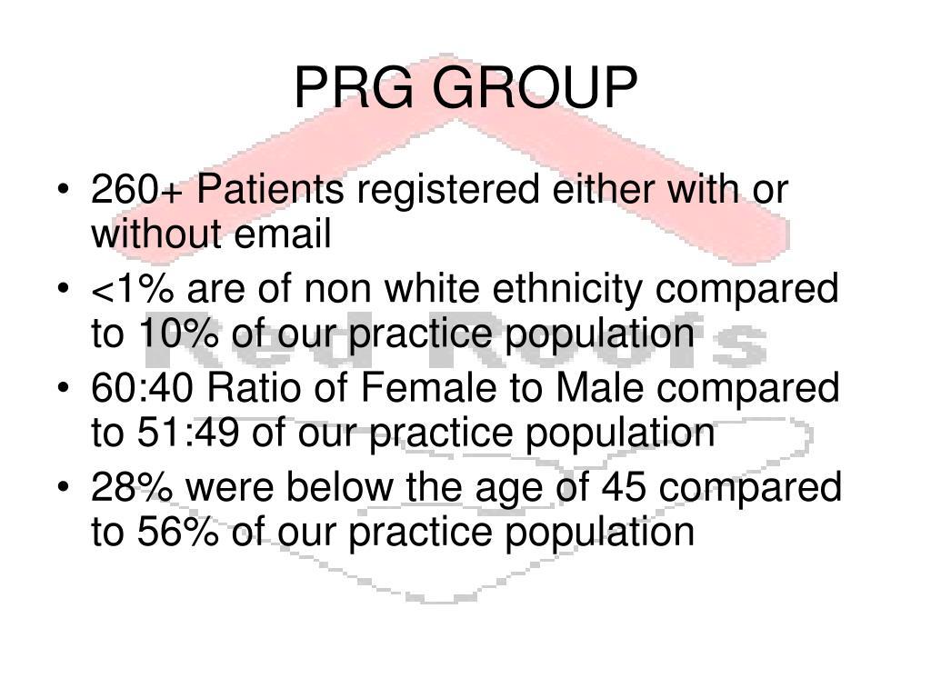 PRG GROUP