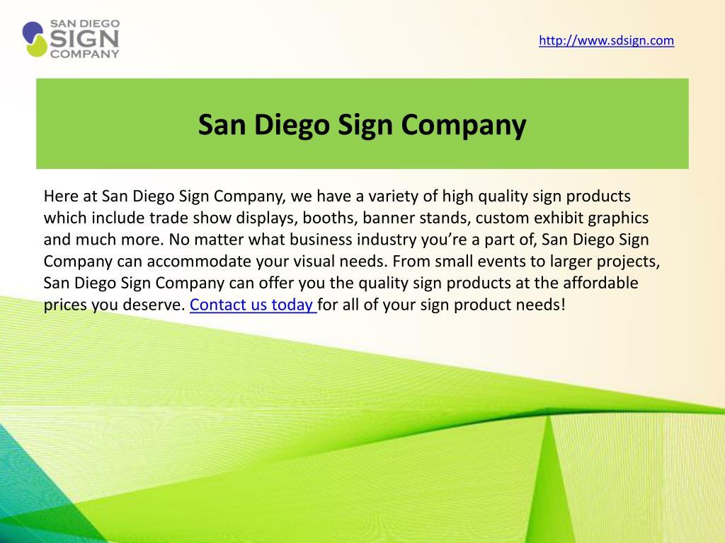 San Diego Sign Company