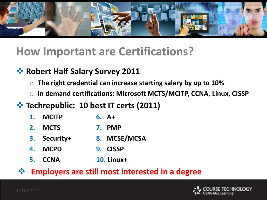 How Important are Certifications?