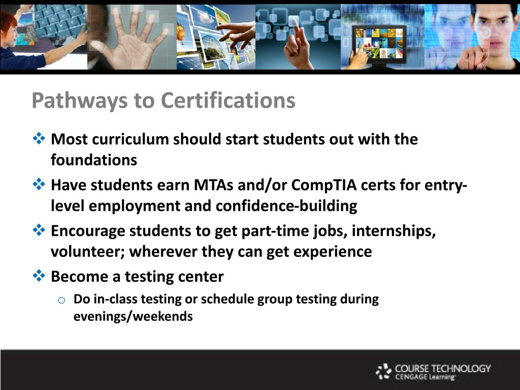 Pathways to Certifications