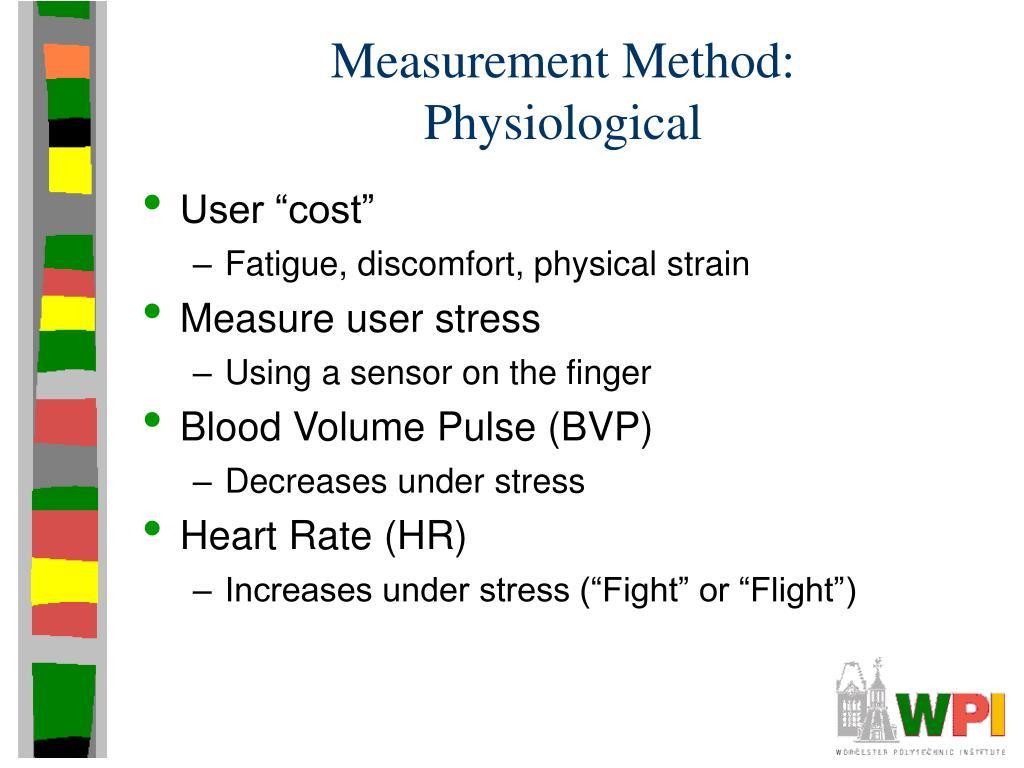 Measurement Method: