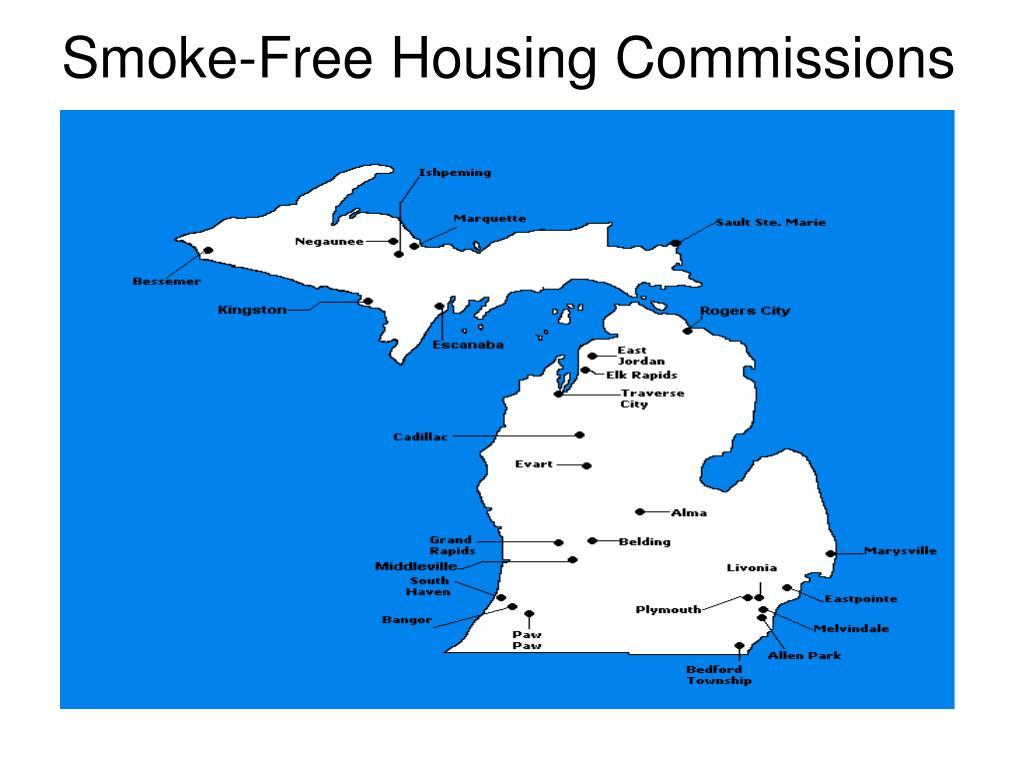 Smoke-Free Housing Commissions